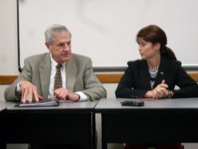 Jonathan Barry with Lt. Gov. Rebecca Kleefisch