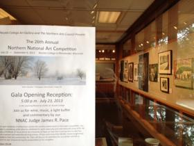 The Northern National Art Competition opens Tuesday.