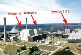 WPS power plants south of Wausau