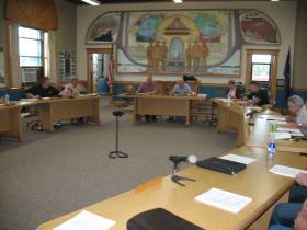 Rhinelander city council 8/12