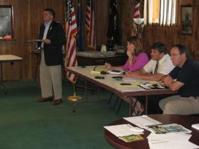 Veterans Affairs Sec. John Scocos, Reps. Czaja, Swearingen, Sen. Tiffany