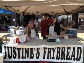 Justine Whitefish recently started a frybread business, after making the bread for over 30 years.