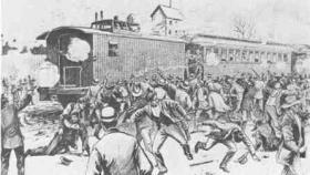 Pullman strike image