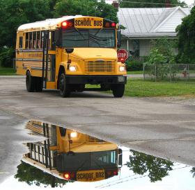 As school buses prepare to roll out, Rhinelander District Schools Superintendent Kelli Jacobi hopes for a smooth first day.
