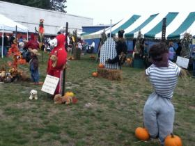 The Scarecrow Fest featured dozens of scarecrow creations from local groups.