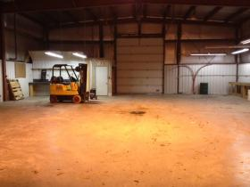 The building off of Highway 70 in Eagle River offers small manufacturers plenty of space.
