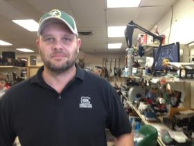 Manager Chris Turk says was good Friday at Hodag Pawn and Gun.
