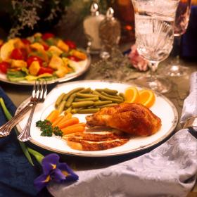 The cost of a Thanksgiving meal has gone up about 70 cents in the past 13 years.