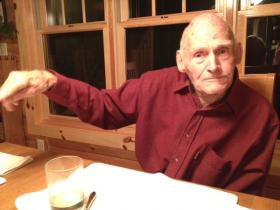 Walter Wendt is 95 years old and lives in McNaughton, Wisconsin.