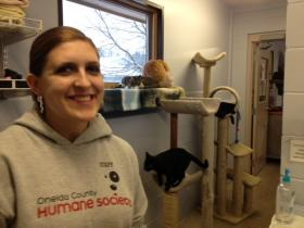 Bria Swartout is Executive Director of the Oneida County Humane Society.