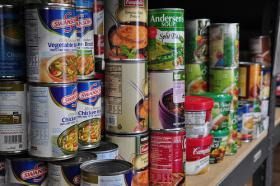 Ruby's Pantry collects extra food from big grocery stores and distributes it in Minnesota and Wisconsin.