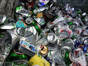 Many people know to recycle aluminum cans, but they can still end up in landfills.