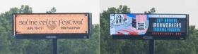 Digital billboard examples