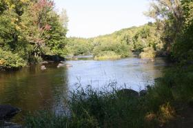 A proposed scenic byway would skirt parts of the Wolf River.