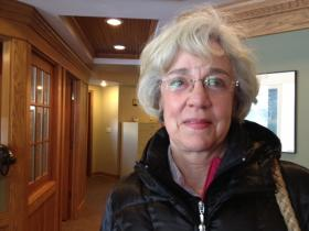 Florence Reisgies has been a hospice volunteer for three years.