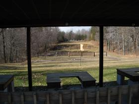 Example of a shooting range