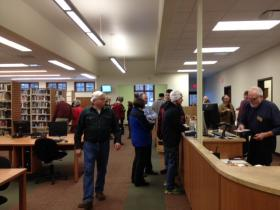 Boulder Junction's public library now has twice as much space.