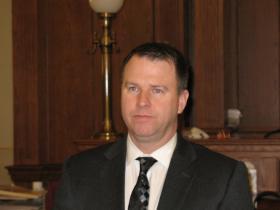 Oneida County District Attorney Michael Schiek