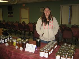 Tonya Hofrichter is a vendor at the winter market.