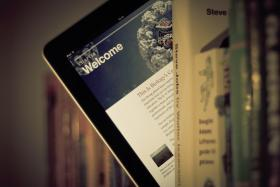 E-books are on the rise, but may not be replacing print formats.