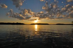 A Northwestern Wisconsin lake.