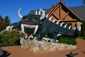 The Hodag at the Rhinelander Chamber of Commerce