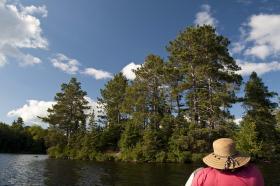 An Oneida county lake