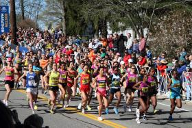 Thousands of qualifying runners will compete in the Boston Marathon on April 21, 2014.