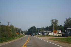 A stretch of Highway 55