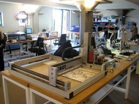 Fab Lab in Amsterdam.