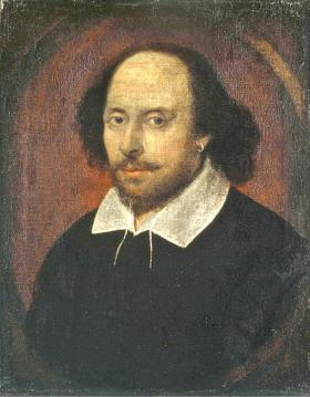 "The ""Chandos"" portrait is believed to depict William Shakespeare."