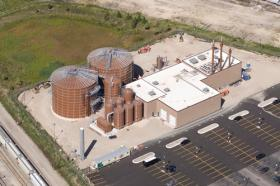 The biodigester in Milwaukee