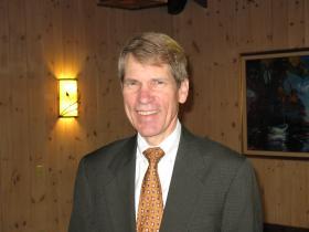 Revenue Secretary Richard Chandler in Rhinelander