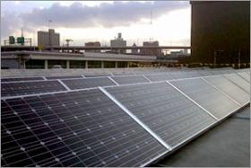 Solar panels on tribal offices in Milwaukee