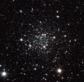Globular cluster Terzan 7 is on the other side of our galaxy.
