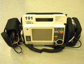 Defibrillator and monitor