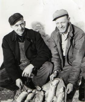 Vern Frechette (left) grew up in Chequamegon Bay.