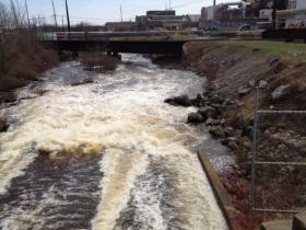 Lots of water is passing through dams, as the Wisconsin Valley Improvement Company opens the gates of the Rainbow and Willow Flowages.