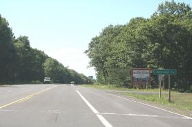 Leading into the Bad River reservation on U.S. 2