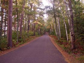 Northwoods bike trail