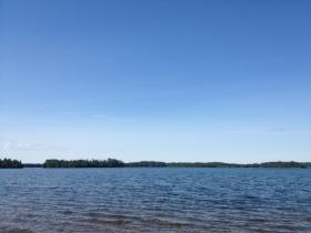 Strawberry Island, in Flambeau Lake on the Lac du Flambeau reservation.