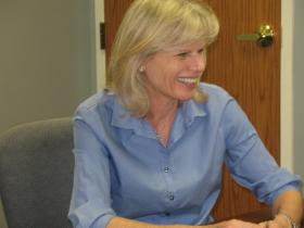 Mary Burke in Tomahawk recently