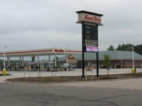 Soon to open Kwik Trip on Rhinelander's east side.