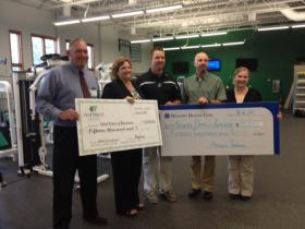 Ministry Medical Group and Aspirus each donated $15,000 to Rhinelander school athletics.