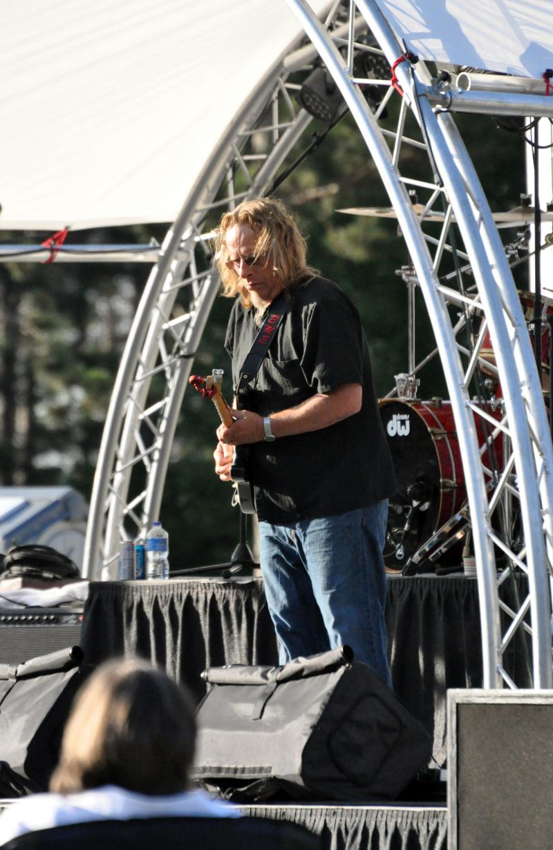 Ed Ehrhardt of the Sena Ehrhardt Band