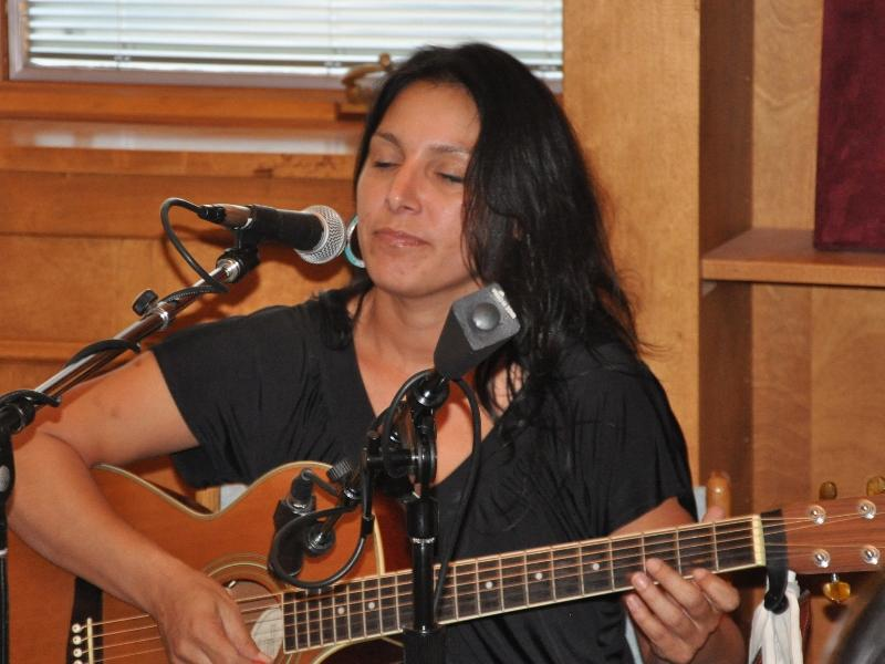 Kelly Jackson singing from her 2012 album, Spirit of a Woman.
