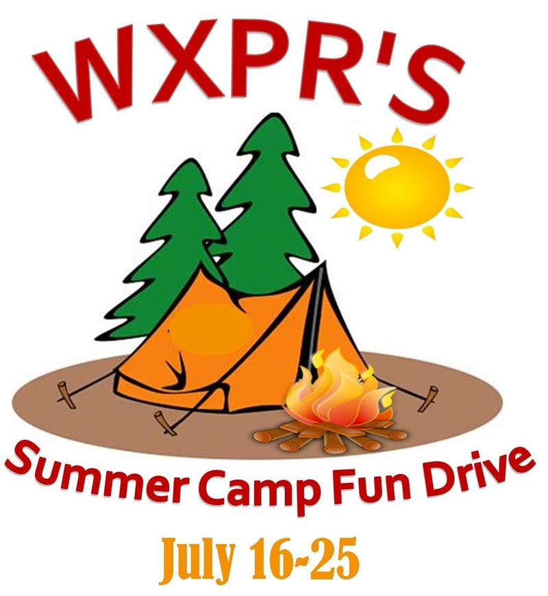 WXPR's Summer Camp Fun Drive