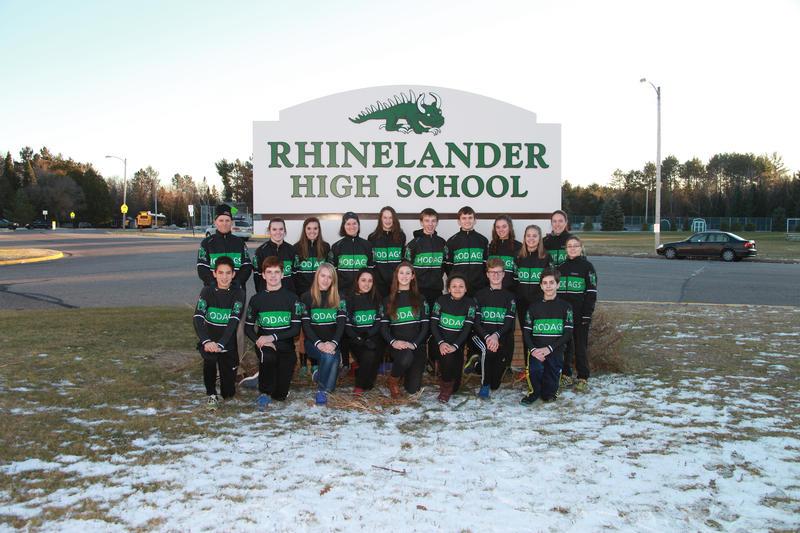 The Rhinelander High School Nordic Team 2016-2017