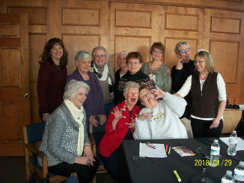 Readers from Rhinelander Woman's Club