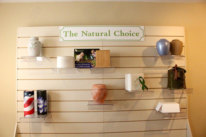 All of these urns at Bolger Funeral Home and Cremation Services are biodegradable.